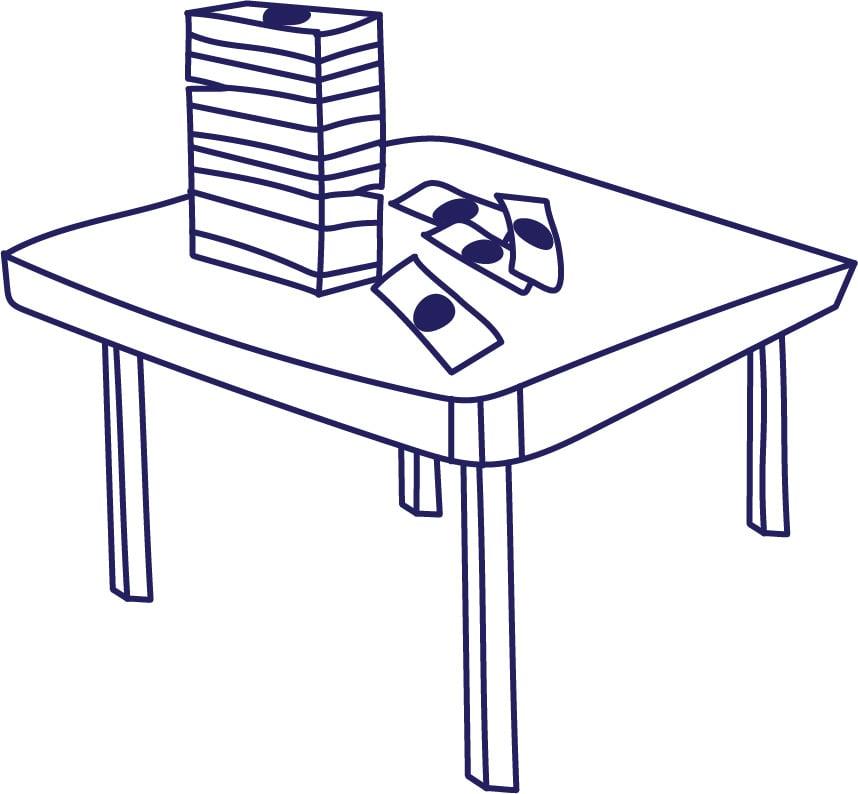 money-table